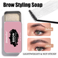 Eyebrow gel Waterproof Long-Lasting 3D Eyebrow Styling Soap Fluffy Brows Makeup Sculpt Wax Women's Cosmetics with Soft Brush