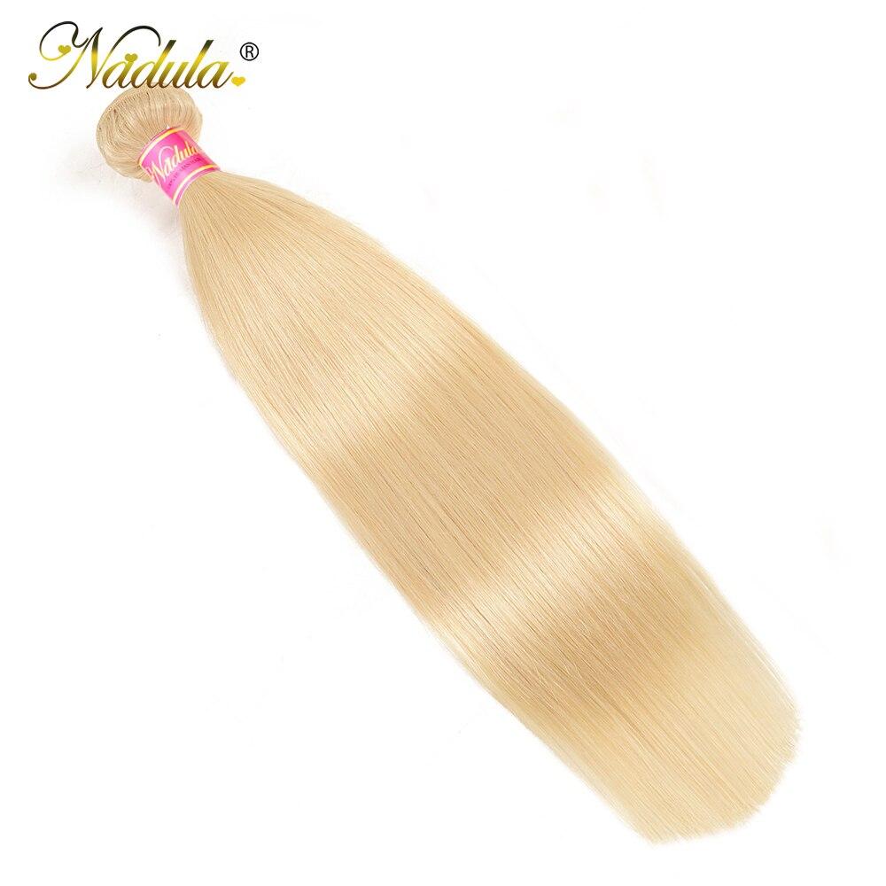 Nadula Hair 613 Blonde Hair One Bundle Straight 100%  s 10-24inch Blonde  Hair s  3