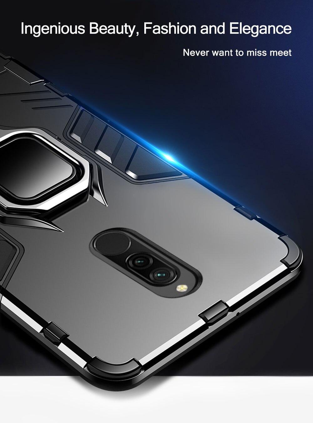 H6196e591b0de4ffeba759e47e85d34c4J Armor Case for Redmi 8 8A Case Magnetic Car Phone Holder TPU+PC Bumper Cover on for Xiaomi Redmi 8 8A 8 A Global Version Case