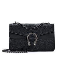 Designer Alligator Women Bag Leather Luxury Shoulder Bag Chain Clutch Handbag Evening Crossbody Bag Women Hand bag Bolso Mujer