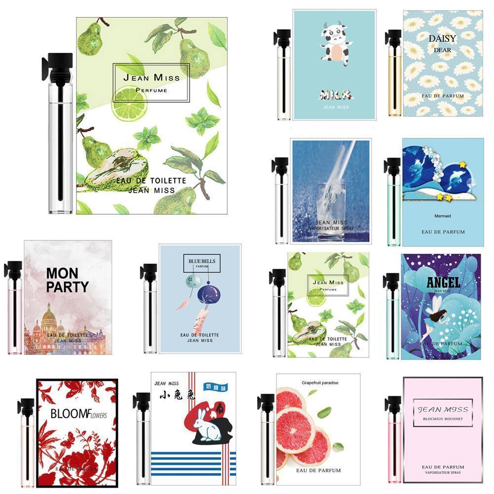 12 Type 2ml Perfume Pheromones Long Lasting Fashion For Elegant Package Cute And Perfume Fragrance Women Y2M5