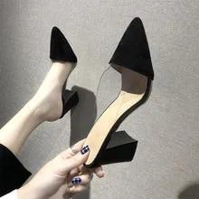 Details about  /Size US 4-15 Womens Korea Open Toe Block Mid Heel Roman Sandals Date Dress Shoes