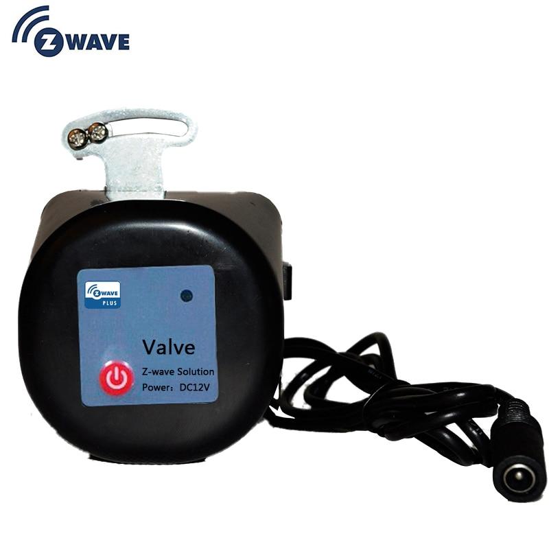 Z-Wave EU 868.4MHZ Gas / Water Auto Shut Off Valve Z Wave Smart Home Automation Work With Z Wave Water Leak Gas Leakage Sensor
