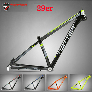 TWITTER MTB frame 29er Mountain Bike Frame 15.5 17 19 inche Aluminum MTB Bicycle Frameset For Wheel Size 29