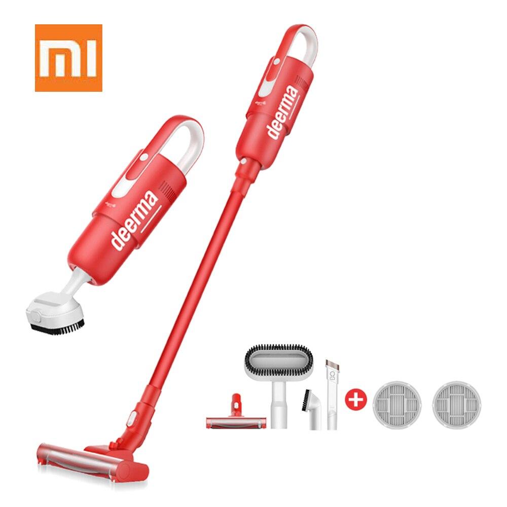 Xiaomi Deerma DEM VC21 aspirateur à main sans fil bâton aspirateur Unique Version rouge maison dépoussiéreur Machine de nettoyage