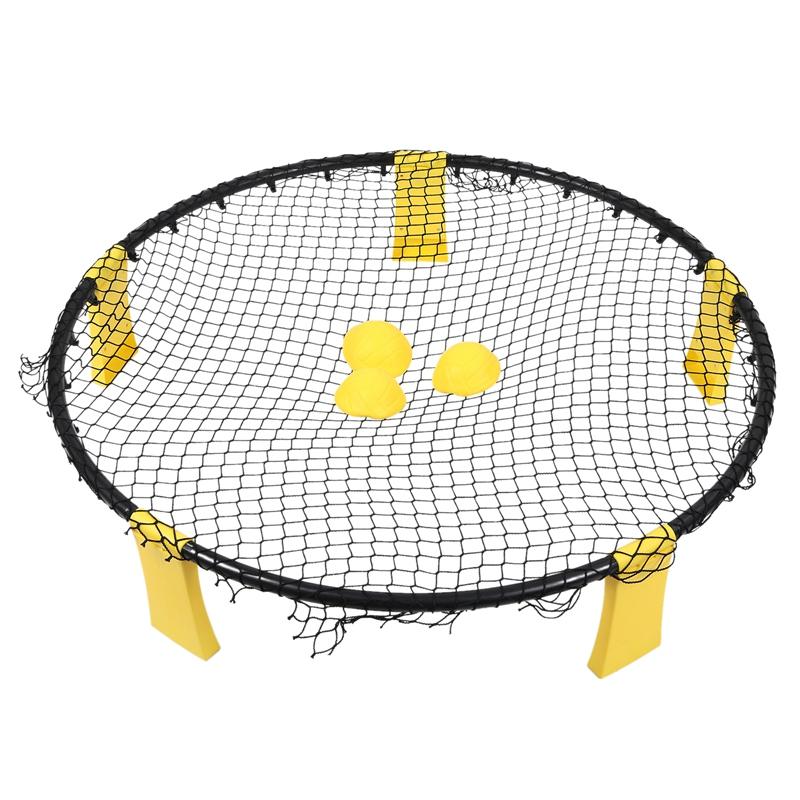 Beach Volleyball Children's Outdoor Leisure Sports Toys Portable Auxiliary Training Beach Smash