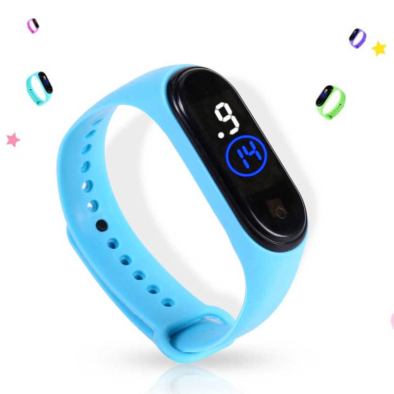 Mode Sport Uhr Für Kinder Kinder Wasserdichte Led Digital Uhr Ultra-licht Silikon Strap Teen Jungen Mädchen Armbanduhr Unisex