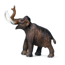Childrens Solid simulation wild animal model toy zoo prehistoric mammoth elephant ornaments
