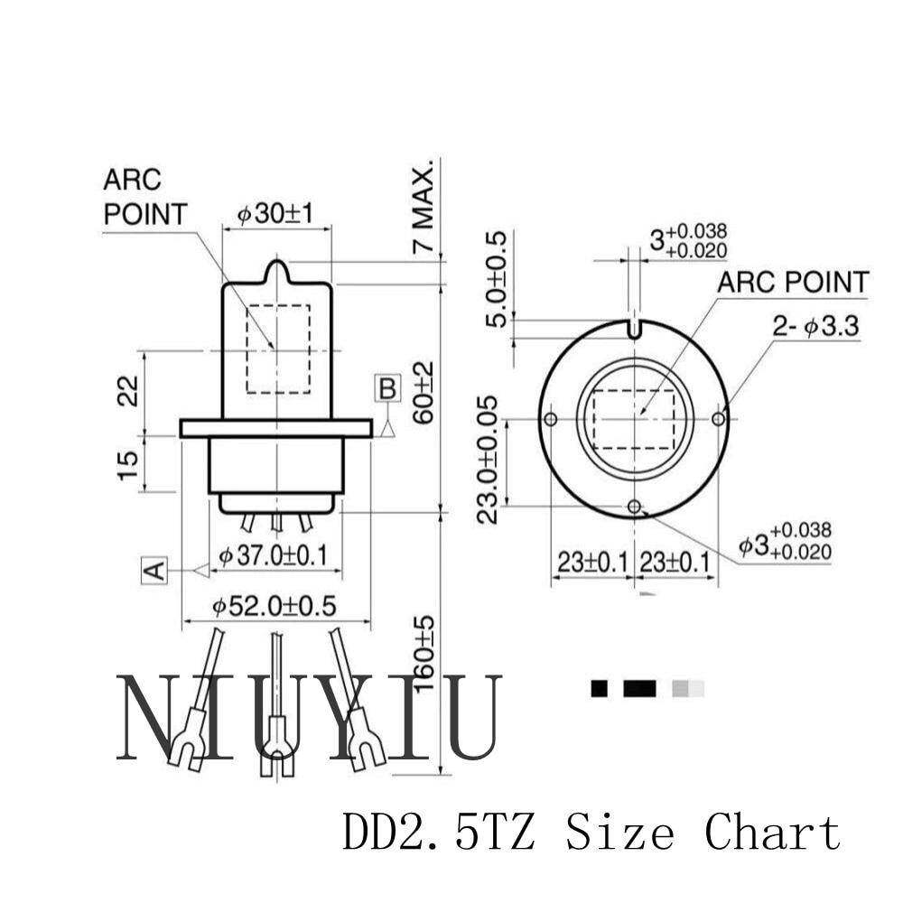 Spectrophotometer lamp holder Tungsten lamp holder 12V20W VS 304 lamp holder G4