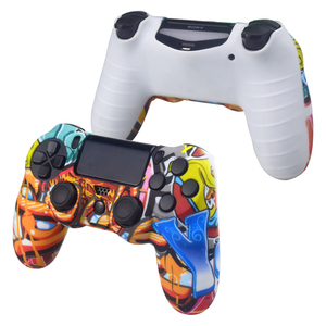 Image 5 - Data Frog Soft Silicone Gel Rubber Case Cover For SONY Playstation 4 PS4 Controller Protection Case For PS4 Pro Slim Gamepad