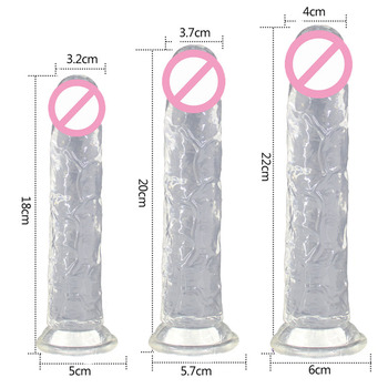 Realistic Jelly Dildo Big Penis For Women Huge Vagina Female Masturbator Anal Plug With Suction Cup Dick Sex Toys for Adults case for samsung galaxy a7 2018 s8 s9 s10 plus s7 edge j3 j5 j7 a3 a5 2017 2016 a8 plus liquid glitter quicksand soft tpu case