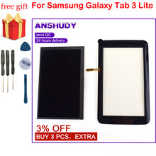 สำหรับ Samsung Galaxy Tab 3 Lite 7.0 SM-T110 T110 SM-T111 T111 Touch Screen Digitizer Sensor Glass + จอแสดงผล LCD monitor(China)