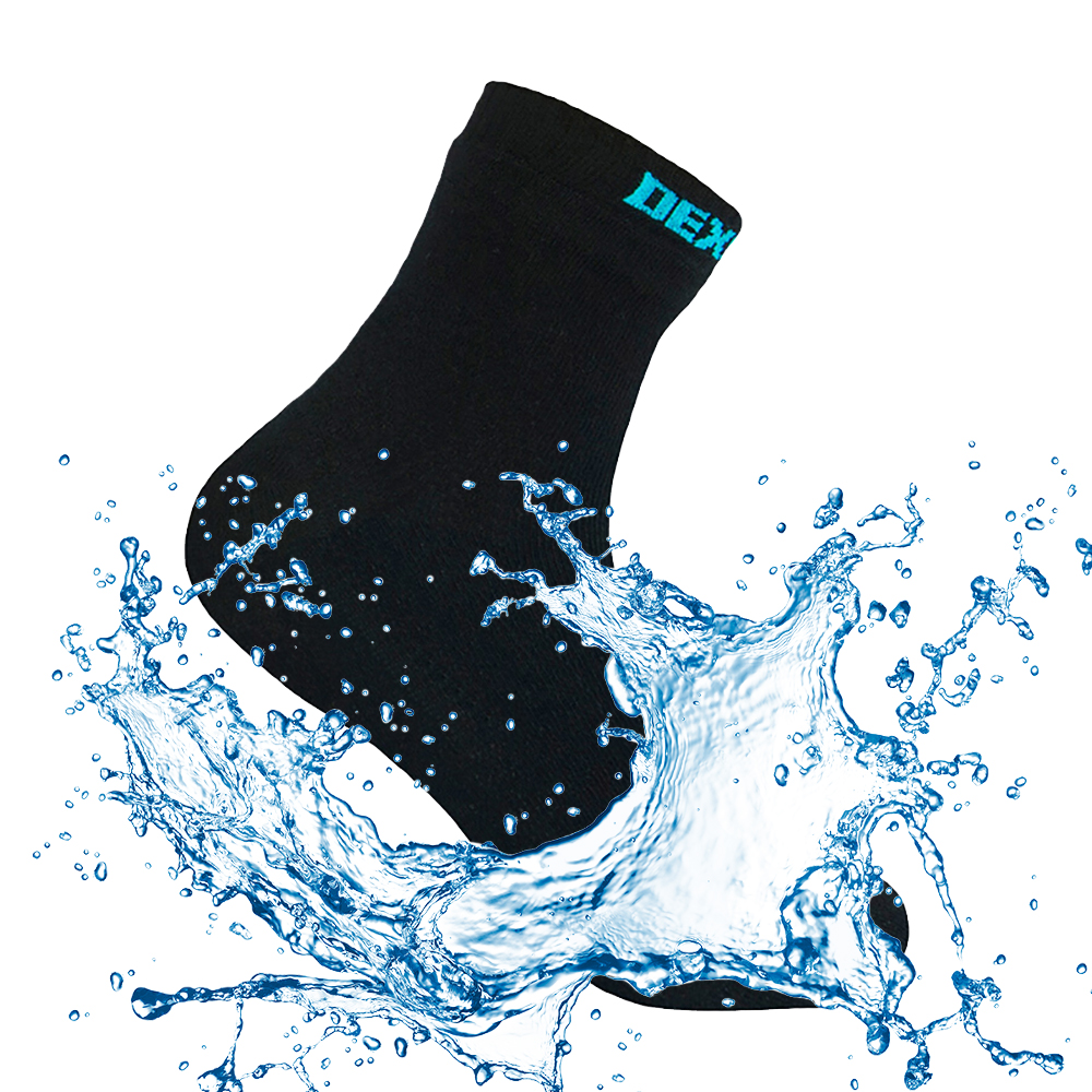 Waterproof Breathable Bamboo Rayon Socks For Hiking Hunting Skiing Fishing Seamless Outdoor Sports Unisex Dexshell