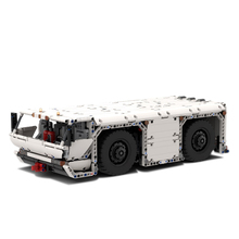 Building Blocks Technic Compatible MOC-26069 Aircraft Pushback Tractor Bricks Fit lepining Diy Toy Christmas Birthday Gifts compatible technic moc 2041 rock crawler building blocks bricks toys birthday gifts fit lepining brick diy toy christmas gift