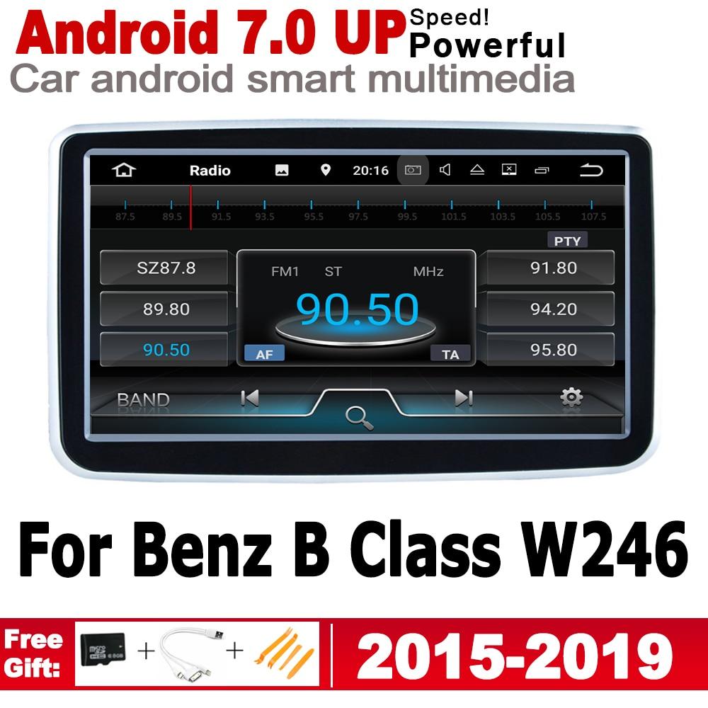 8 HD экран стерео Android GPS Navi карта для Mercedes Benz B Class W246 2015 ~ 2019 NTG оригинальный стиль мультимедиа плеер радио