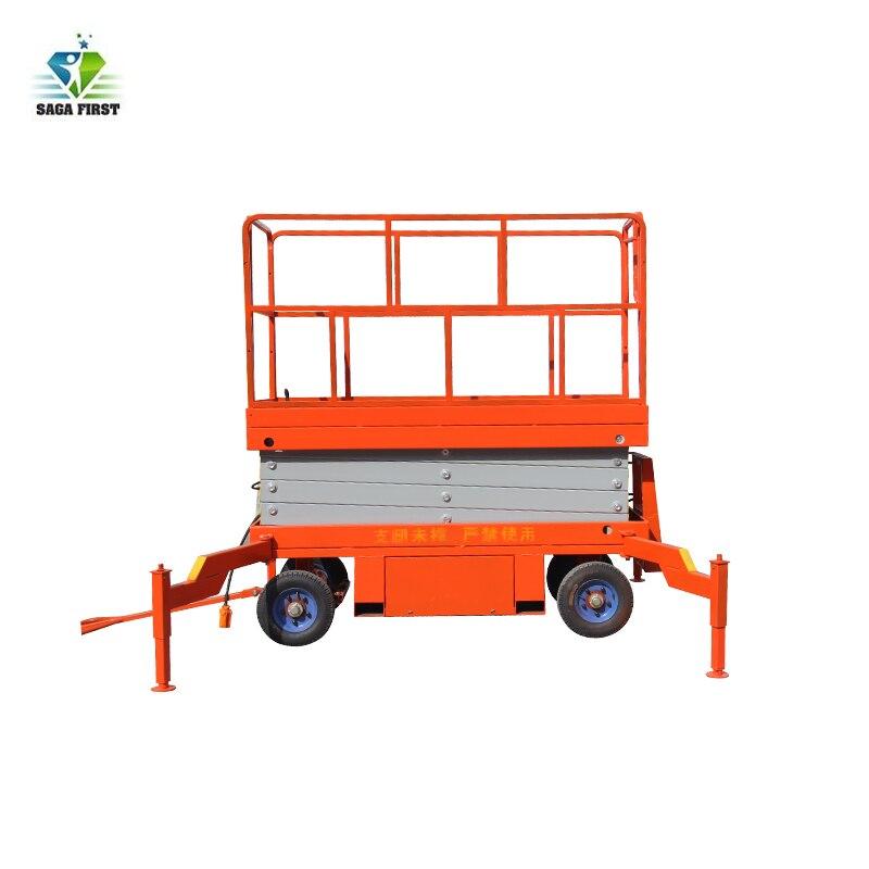 Electric Lifting Platform Scissor Lift Mobile Lift Table