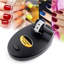 Agitador de esmalte de uñas en Gel, agitador de pintura de tinta de tatuaje, botella líquida, máquina agitadora de bloqueo de impactos, agitador de esmalte de Gel