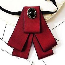 Высококачественный мужской галстук ручной работы тканевый бабочка