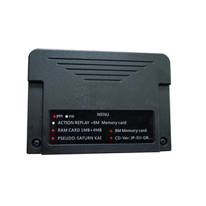 Image 5 - NEW ALL IN 1 For Sega Saturn SS Cartriage Action replay Card with Direct reading 4M Accelerator function 8MB memory