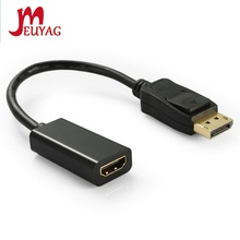 Cable-Adapter Display-Port Hdmi-Compatible Converter Male-To-Female DP MEUYAG for PC