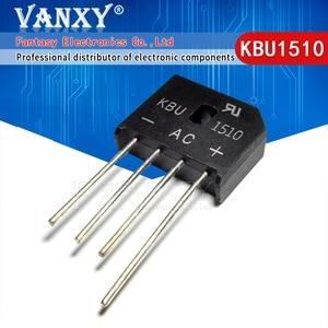 Image 1 - 5PCS  KBU1510 KBU 1510 15A 1000V diode bridge rectifier new and original IC