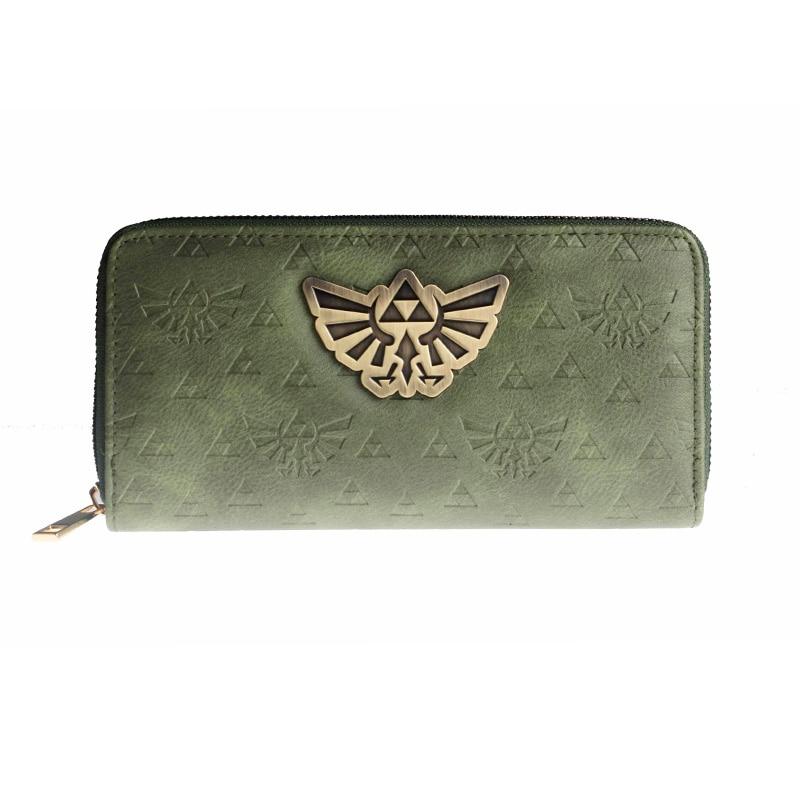 Legend of Zelda Navi L ซิปกระเป๋าสตางค์คุณภาพสูงกระเป๋าถือผู้หญิง