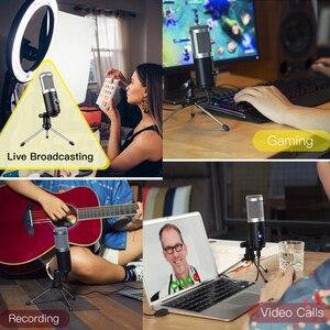 Image 5 - USB микрофон GGMM F1 для ноутбука, Mac, Youtube