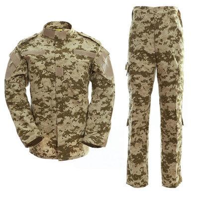 14 Color Military Tactical Uniform Camouflage Training Shirt Commando Uniform Military Uniform Male Jacket Soldier Uniform