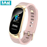 QW18 Farbe Bildschirm Smart Armband QW16 Herz Rate Monitor IP68 Wasserdichte Fitness Tracker Band Bluetooth 4,0 Sport Armbänder