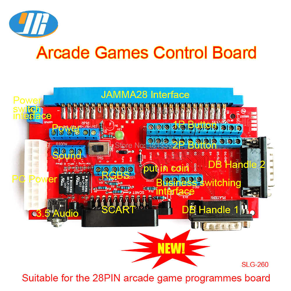 SNK 마더 보드 JAMMA to DB 15PIN Joypad 변환 보드 JAMMA CBOX Converter With SCART Output
