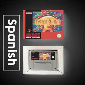 Image 2 - Earthbound   EUR Version RPG Spiel Karte Batterie Sparen Sie Mit Einzelhandel Box