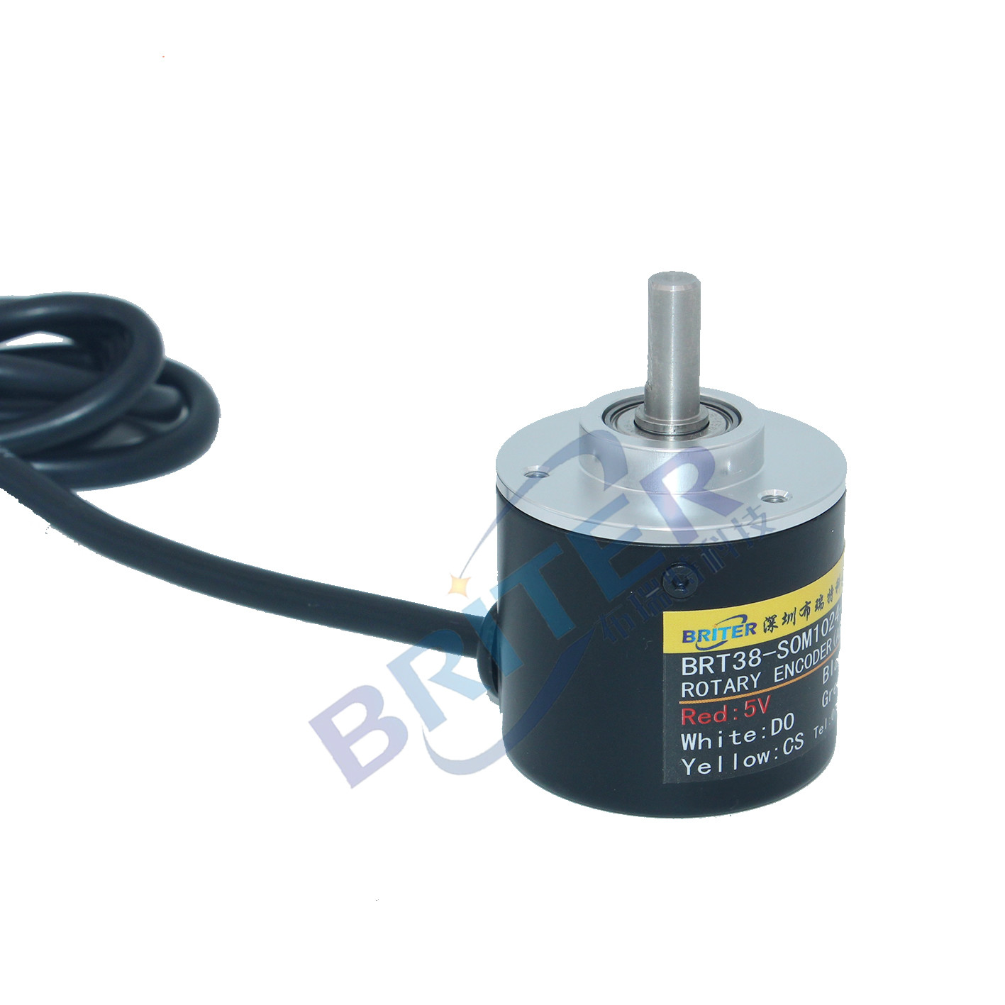 Single-turn SSI Angle Rotation Absolute Value Encoder High-precision Power-down Memory