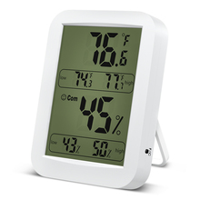 Indoor Digital Temperature Humidity Meters Healthy Weather Station Room Thermometer Temperature Humidity Monitor 4.4