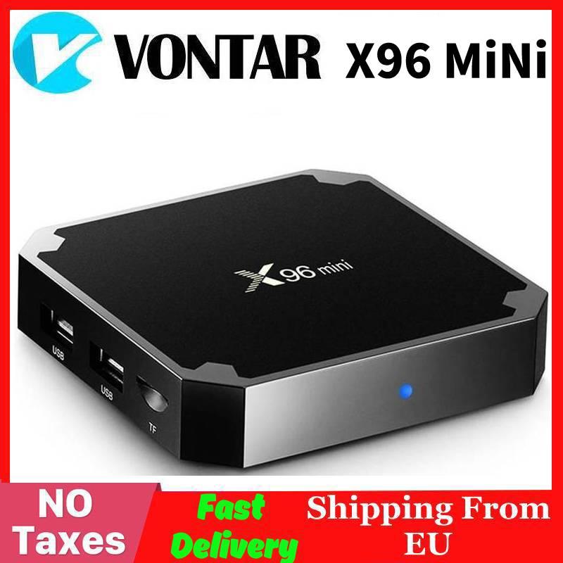 Vontar X96 mini Android TV BOX Amlogic S905W X96mini QuadCore 2.4G Wi-fi Android 7.1 IPTV set top box Inteligente 4K Media Player