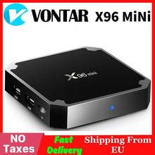 Vontar X96 mini Android TV caja Amlogic S905W QuadCore 2,4G WiFi X96 mini Android 7,1 Smart set top BOX 4K Media Player(China)