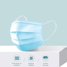 anti virus Hot Sale 1000pcs Solid Color Face Mouth Masks Non Woven Disposable Anti-Dust Surgical mask Earloops Masks N95 N99