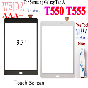 """WEIDA LCD 9.7"""" Touch screen For Samsung Galaxy Tab A 9.7 SM-T550 T550 T551 T555 Touch Screen Digitizer Free Tool(China)"""