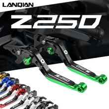 Motorrad Einstellbare Erweiterbar Bremse Kupplung Hebel Für Kawasaki Z250 Z250SL Z 250 2013 2021 Z250 SL 2014 2021 zubehör
