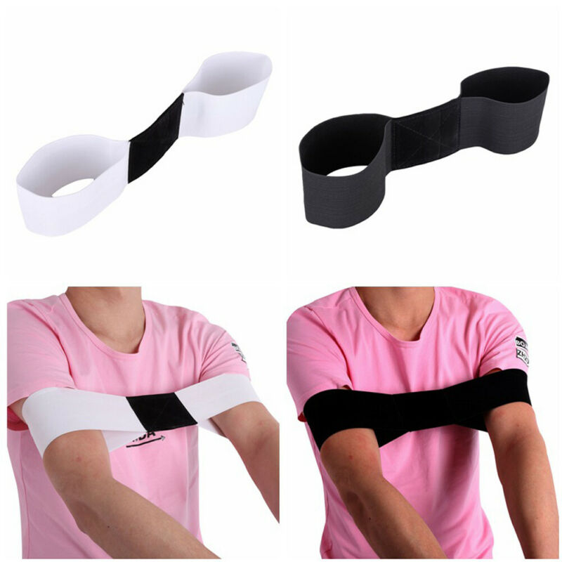 1PC Golf Smooth Swing Training Aid Arm Posture Motion Practice Correction Belt Sporting Goods