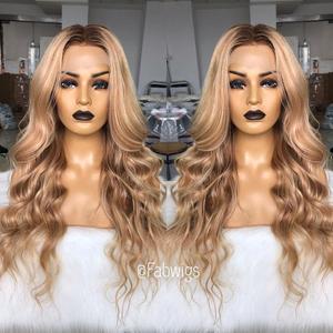 Image 3 - Perruque Full Lace wig brésilienne naturelle Remy fabwig