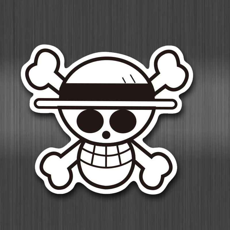 A0671 Anime 2019 ONE PIECE Luffy Stickers For Car Laptop PVC Backpack Home Decal Pad Bicycle PS4 Waterproof Decal