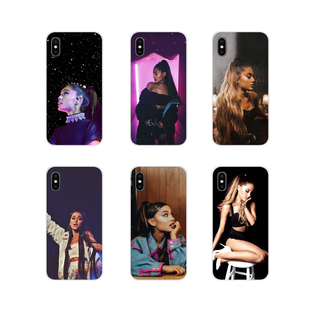 Mobile Phone Skin Cover Colorful <font><b>Ariana</b></font> <font><b>Grande</b></font> Goddess For Apple <font><b>iPhone</b></font> X XR XS 11Pro MAX 4S 5S 5C SE <font><b>6S</b></font> 7 8 Plus ipod touch 5 6 image