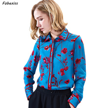 100% Mulberry Silk Blouses Women 2019 Fall New Long Sleeve Buttoned Cardigan Elegant Real Silk Shirt Office Lady Plus Size Shirt drop shoulder pearl buttoned cardigan