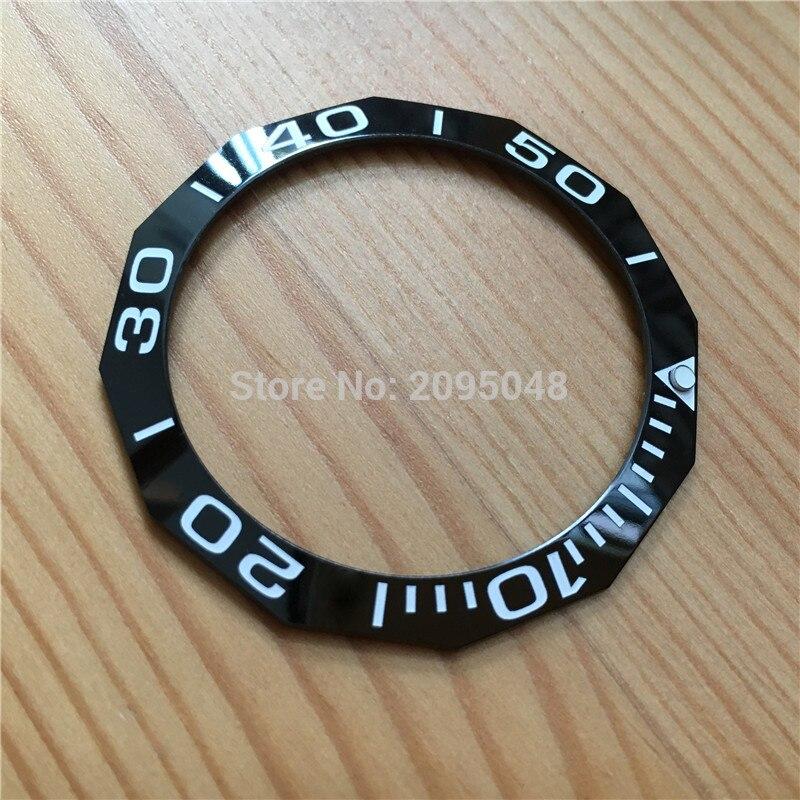 Moldura cerâmica para tag heuer aquaracer relógio automático way201
