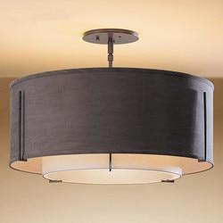 Chiński styl LED prostota tkanina artystyczna lampa sufitowa nowoczesna lampa do jadalni romantyczne oświetlenie do sypialni darmowa wysyłka