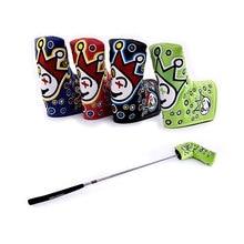 2021 nouveau Joker PU Golf lame Putter couverture Putter Clown Golf tête couverture pour Fairway Woods hybride sauvetage couvre-chef