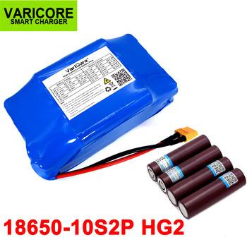 36V HG2 6Ah 18650 akumulator litowo-jonowy akumulator litowo-jonowy na 2 koła elektryczny skuter utrzymujący równowagę hoverboard unicycle tanie i dobre opinie VariCore 10-20ah 36 v Bateria litowa