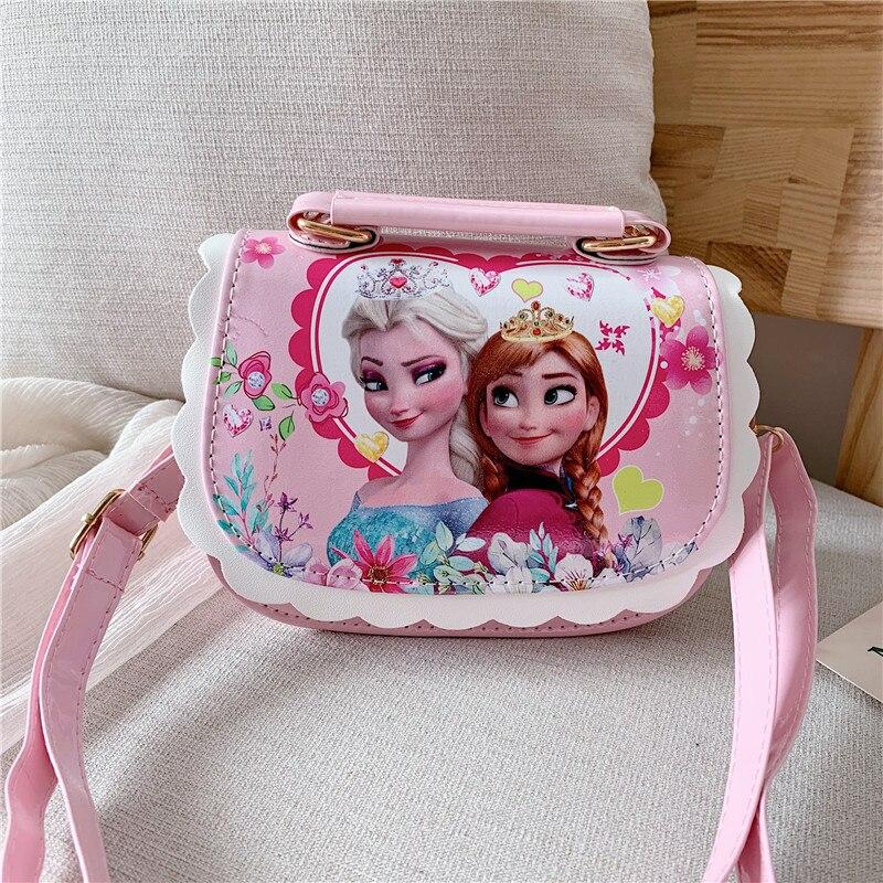 Disney new Sofia Princess girls pu portable handbags women bag fashion Messenger bag cartoon shoulder bag frozen handbags
