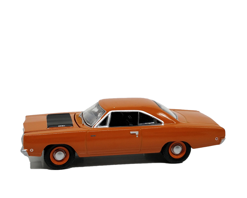 1:64 Greenlight Plymouth Road 1968 Orange No Box
