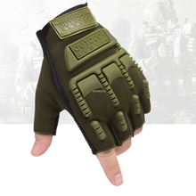 Hunting-Gloves Protective Combat Half-Finger Airsoft Military Tactical Hiking Outdoor